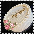 Hazelnut Cake With Whipped Cream