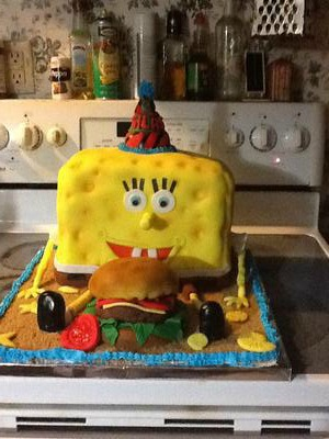This Was For A Little Boy Who Loved Sponge Bob