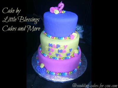 This Cake Was Donated To Jaylay Who Was Born With Krabbes Disease. She Passed  A Few Short Months Later