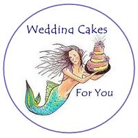 mermaid wedding cake