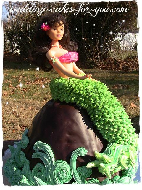 Mermaid Cake For Evynn