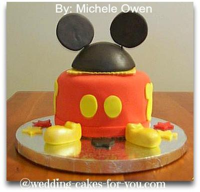 Mickey Mouse Clubhouse Birthday Cake on Mickey Mouse Birthday Cake