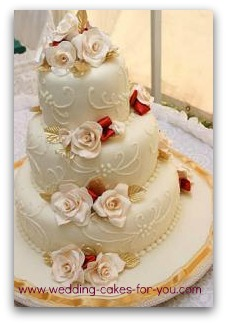 wedding cake fondant design a fondant wedding cake is in your future 22686