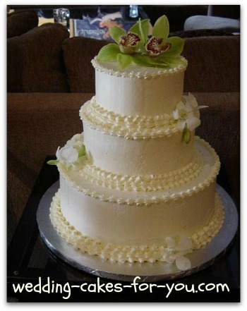 3 tier white chocolate wedding cake recipe white chocolate frosting 10354
