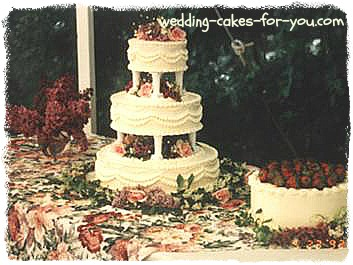 Brides And Grooms Cake