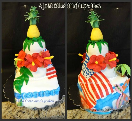 Click to read the story about this4th of july cake