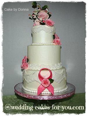 A Special Wedding Cake For A Cancer Survivor