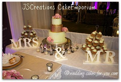 JS Creations gorgeous wedding dessert table display