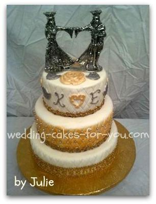 renassaince wedding cake