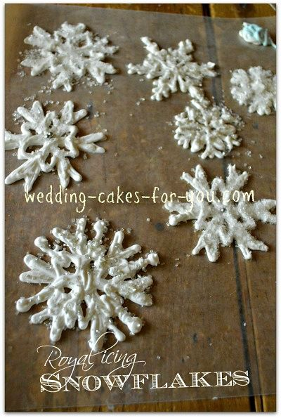 Royal Icing Snowflake