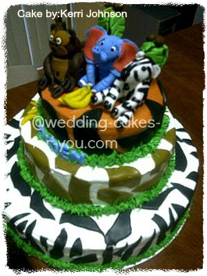 jungle cake for baby