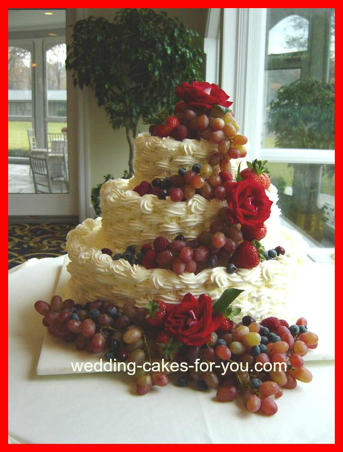Easy To Make Cake Designs http://www.wedding-cakes-for-you.com/simpleweddingcakes.html