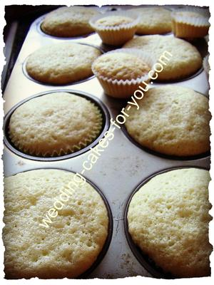Vanilla Cupcakes Cooling