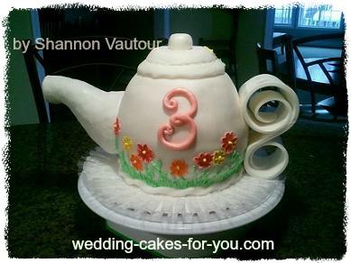 A Fairytale Tea Party Cake