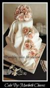 Cascading Roses and Fondant Draping