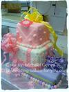 A Birthday Present Fondant Cake by Michael Gonya