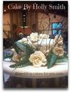 This is the only good pic I have of the Bride and Groom's topper cake showing the roses on top and sides