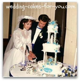 1980s wedding cake