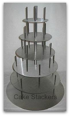 wedding cake supports transporting 4 tiered cakes 25851