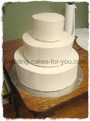 A Three Tiered cake