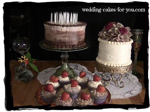 Rustic Wedding Cakes by Lorelie