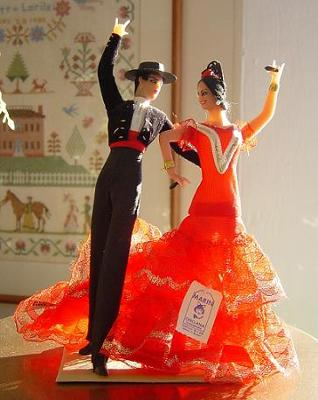 Flamenco dolls found at a thrift store