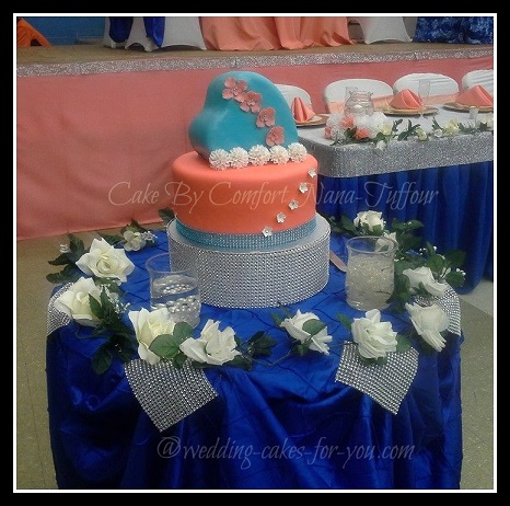 unnique wedding cake