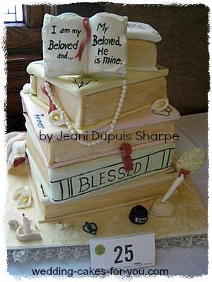 victorian books cake