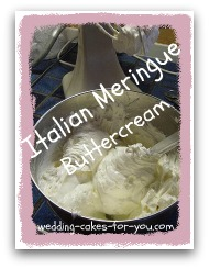 bowl of italian meringue buttercream