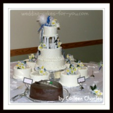 satelite wedding cakes