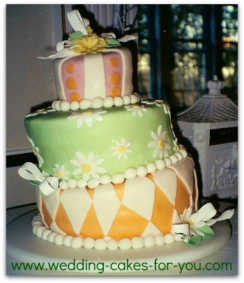 dr. Seus wedding cake