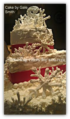 Three Tiers Of Royal Icing Embellishment