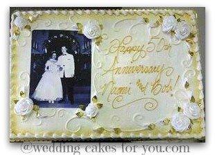 sheet anniversay cake