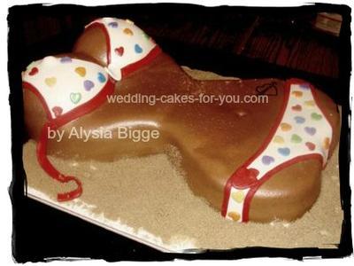 bikini cake