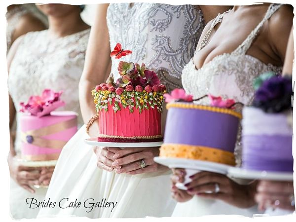 Brides holding Wedding Cakes For You Cake Designs