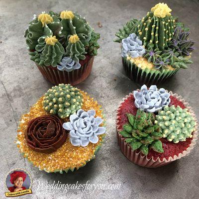 Buttercream Cactus