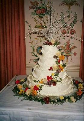 Buttercream Ruffled Cake