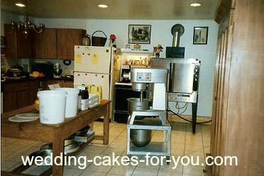 Lorelie's Luscious Cakes- Home Kitchen Back In The Early Days