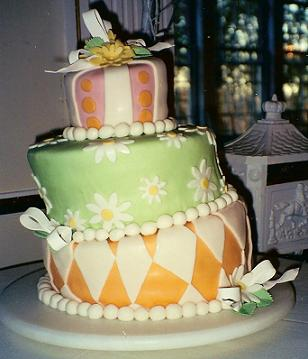 A Carrot Cake Wedding Cake