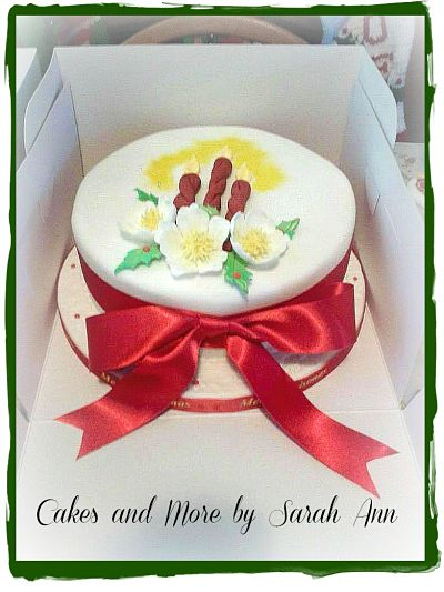 Christmas Cake by Cakes and More