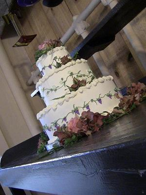 Designed for a wedding at a winery