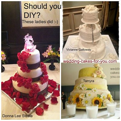Diy Brides at Wedding Cakes For You
