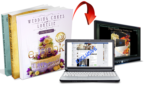 wedding cakes with lorelie step by step ebook and video package
