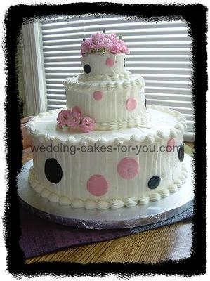 Fondant Decorations On A Buttercream Cake