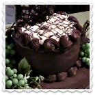 German chocolate cake icing Clickable Link