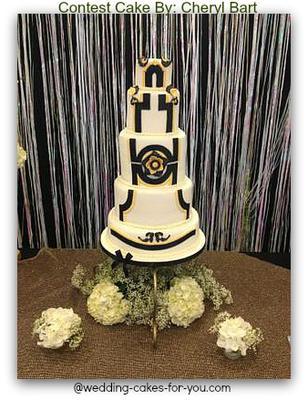 Great Gatsby Theme Cake