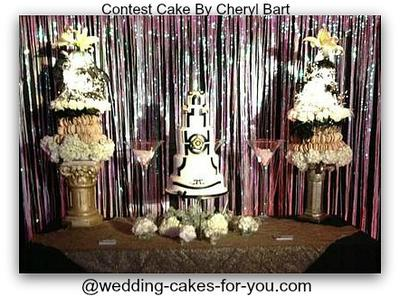 Cake Display At The Gala To Benefit Newtown