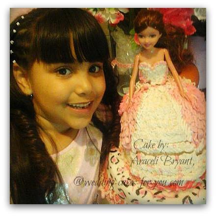 A Pretty princess cake by Aricel