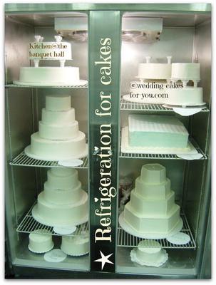 Cake awaiting decoration