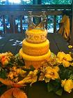 renaissance wedding cake